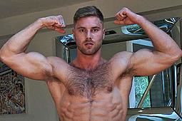 Tom Lawson in Muscular Rugby Jock Tom Lawson by