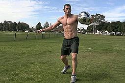 Neil in Beefy Soccer Jock by