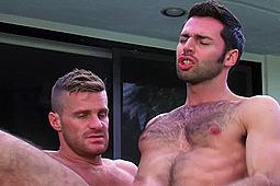 Dario Beck, Landon Conrad in Hairy Dario & Landon Fuck by