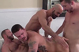 Adam Russo, Dayton O'Connor, Shay Michaels, Tate Ryder in Dayton, Shay, Adam and Tate by
