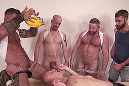 Blue Bailey, Dolf Dietrich, Lex Antoine, Mason Garet, Ray Dalton, Seth Fisher, Shay Michaels in Piss Pig Mason by