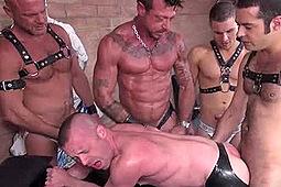 Blake Ericson, Chad Brock, Dane Caroggio, Patrick O'Connor, Ray Dalton in A Group's Piss Bottom by