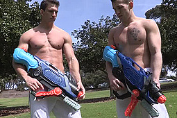 Joey, Parker in After the Waterfight: Parker & Joey by