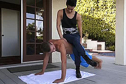 Alex Greene, Liam Riley in A Better Workout by