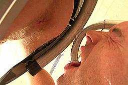 Master Derek, sub elliott in Human Toilet for Daniel Johnson by