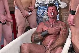 Blake Ericson, Chad Brock, Dane Caroggio, Patrick O'Connor, Ray Dalton in Fucking Piss Pigs by