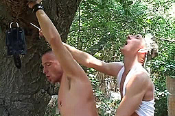 Alex Pitt, Austin Shadow, Chris Neal, Jed Pisston, Kirk Nadir, Max Corey, Titpig in Tied Up and Fucked by