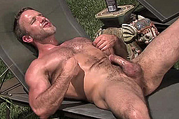 Dirk Caber in Dirk Caber's Outdoor Solo by Colt Studio Group