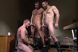Dirk Caber, Shay Michaels in Sting: Watersports Excerpts by