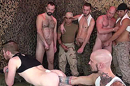 Boy Fillmore, Cy Kohen, Dylan Hyde, Johnny Five, Leo Vega, Parker in Fist & Piss at the Foxhole by