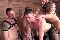 Cope, Derek Parker, James Aaron, Ken Byker, Kyle Savage, Rowdy McBeal in BB Hole Stretchers 2 by