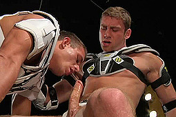 Alexander Gustavo, Connor Maguire in Football Gear: Connor & Alexander by