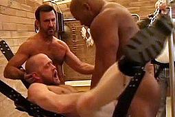 Beau Stromm, Damien, Erik Hunter, Greg McCord, Jake Marshall, Scott Irish in Black Muscle Cock by
