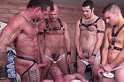 Blake Ericson, Chad Brock, Dane Caroggio, Patrick O'Connor, Ray Dalton in Felching Pigs by