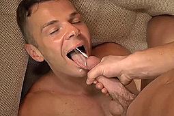 Dawson, Kip in Dawson Feeds Kip His Sperm by
