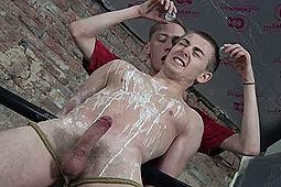 Ashton Bradley, Luke Adams in Luke Adams: Hot Wax & Bondage by Boynapped