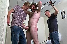Master Derek, Master Will, sub elliott in Will & Derek Torture Elliot by