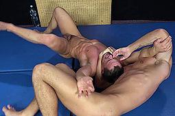 Arny Donan, Martin Porter in Barebacking on the Wrestling Mat by
