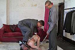 Master Billy, Master Wayne in Suit & Tie Humiliation for a Tailor by
