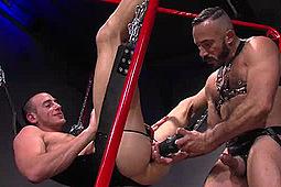 Alessio Romero, Byron Saint in Ass Attack: Alessio & Byron by