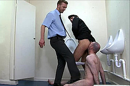 Master Jurgis , Master Lucas in Kicked & Made to Lick Ass by
