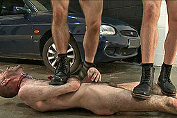 Master Derek, Master Guy in Trampled On By Stinky Mechanics by