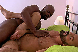 Adam Russo, Cutler X in IconMale: Interracial Bareback by