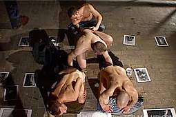Lupus, Marcel Hoffmann in Fisting Foursome by Wurstfilm Club