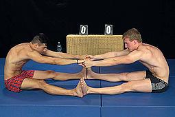 Matej Borzik, Petr Zuska in Blowjobs After Wrestling by