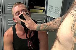 Christian Wilde, Scott Riley in Blond Jockstrap Sniffer by