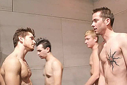 in Fraternity Pledges' Initiation by