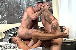 Billy Santoro, Sean Duran, Seth Santoro in Sharing Done Right by