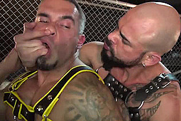 Dalton Sirius, Santi Noguera in Like a Caged and Fucked Animal by