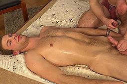 Ales Husar in Ales Husar's Massage & Handjob by
