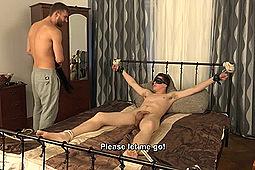 Milan Pokorny, Nikol Monak in Milan in Bondage by Str8Hell