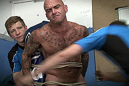 Master Derek, Master Guy, sub mr wilkinson in The Human Tackle Bag by