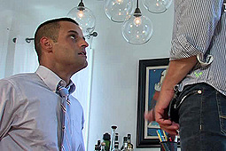 David Benjamin, Tex Davidson in Blackmailing the Campaign Manager by