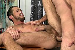 Brett Bradley, Mike De Marko in Brett Bradley Tops Mike De Marko by
