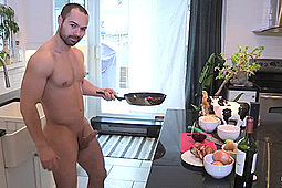 Alexandre in Naked Chef Makes Cock-Au-Vin by