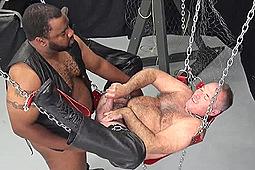 Bo Francis, Tony Banks in Interracial Bears Tony & Bo by