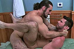 Billy Santoro, Jaxton Wheeler in Jaxton Wheeler Fucks Billy Santoro by Icon Male