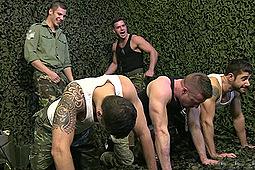 Dean Monroe, Jay Roberts, Paddy O'Brian, Paul Walker, Scott Hunter in The Drill Sergeant 3 by