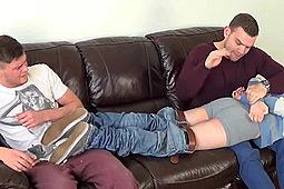 Andy Lee, Dom, Lee in Andy Lee Spanks His Nephews by