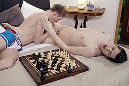 James Stone, Milan Sharp in Czech Twinks Bareback After Chess by