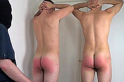 Dale, Mr X, Oliver in Oliver & Dale's Spanking Punishment by