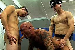 sub mr wilkinson, Master Nick, Master Toby in Penetrated At Both Ends by