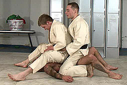 Master Derek, sub mr wilkinson, Master Nick in Judo, Assault & Buggery by