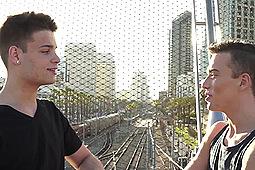 Brad Chase, Ryan Bailey in Bareback Twink Top Ryan Bailey by