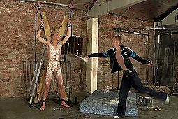 Ashton Bradley, Kris Blent in Wax Torture for Kris Blent by Boynapped