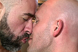 Damon Andros, Trit Tyler in Bald Lovers: Damon Andros & Trit Tyler by
